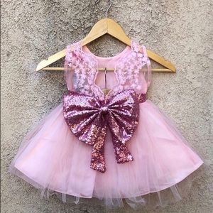 Other - NWT Girls Pink Formal Party Boutique Dress